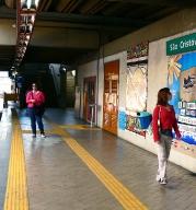 Carioquinha 2011 - Cartaz no Metrô