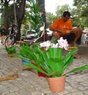 Artista de Rua no dia a dia