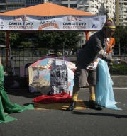 Maratona Artista de Rua no Aterro do Flamengo